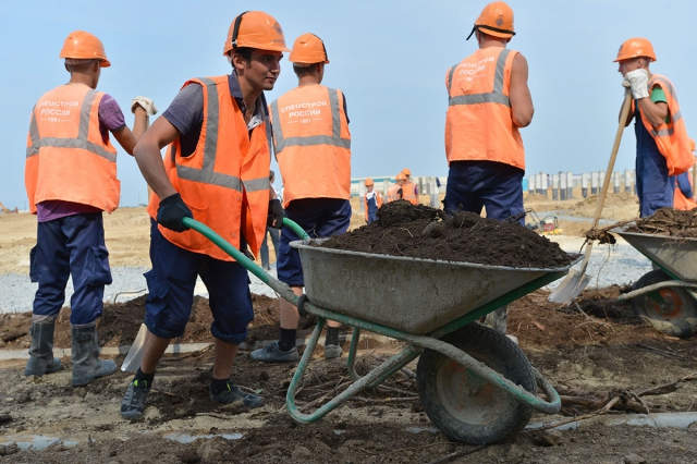 От ЮУрГУ трудился самый малочисленный студенческий строительный отряд: