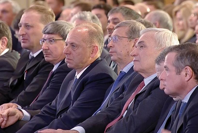 В работе съезда приняла участие делегация регионального Союза промышленников и предпринимателей (