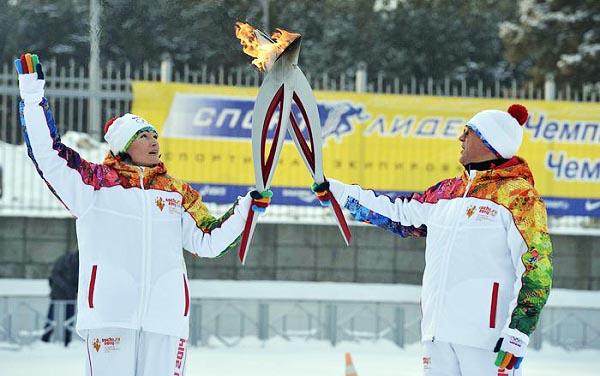 Еще одна двукратная олимпийская чемпионка, гимнастка, подполковник запаса Светлана Хоркина стала