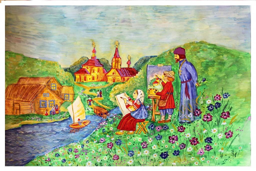 Как сообщили агентству «Урал-пресс-информ» в Челябинской епархии, из 206 работ юных южноуральцев