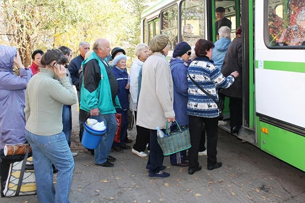 Челябинские автобусы выходят на садовые маршруты, которые будут работать с первого мая по 15-е ок