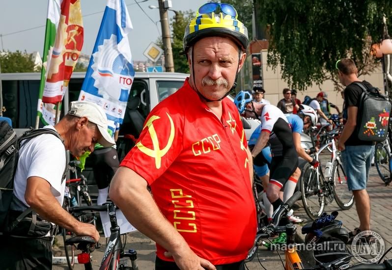 Традиционный велопробег был посвящен Дню города Магнитогорска, Дню металлурга и 85-летию Магнитог