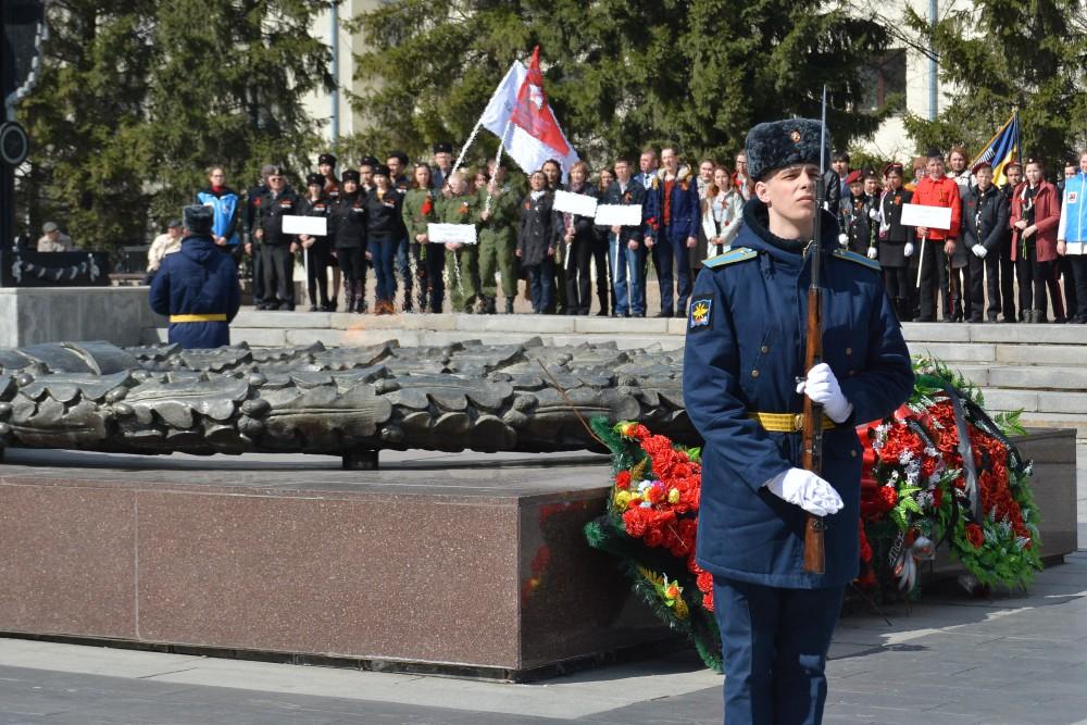 Исполняющий обязанности губернатора Евгений Редин на церемонии отметил, что открытие «Вахты памят