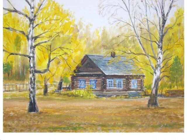 В ретроспективу творчества вошли более 80 живописных картин, выполненные в разных жанрах – пейзаж