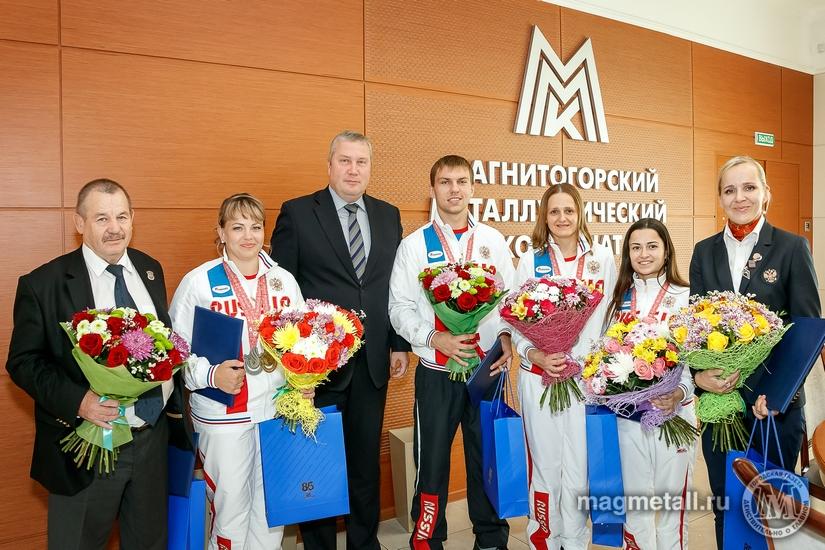 Команда слабослышащих дзюдоистов спортивного клуба «Металлург-Магнитогорск» под руководством Рауф