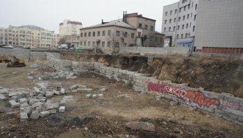 Напомним, что строительство на месте бывшей прядильно-ткацкой фабрики было начато несколько лет н