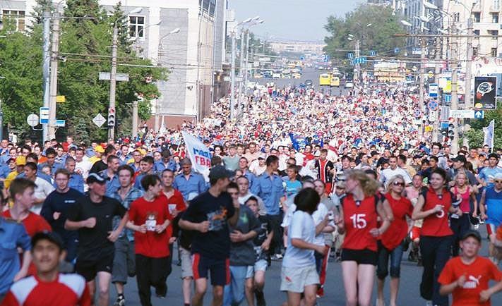 «Зеленый марафон 2016» претендует на российский рекорд как спортивно-массовое мероприятие, проход