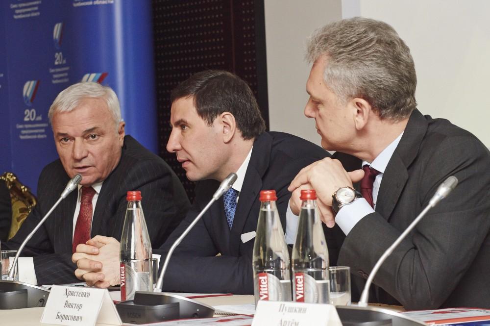 Как сообщил на заседании президент СПП, председатель совета директоров Магнитогорского металлург