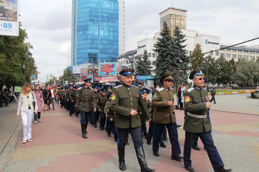 Как пояснили в Челябинском молодежном казачьем центре в этот день прой