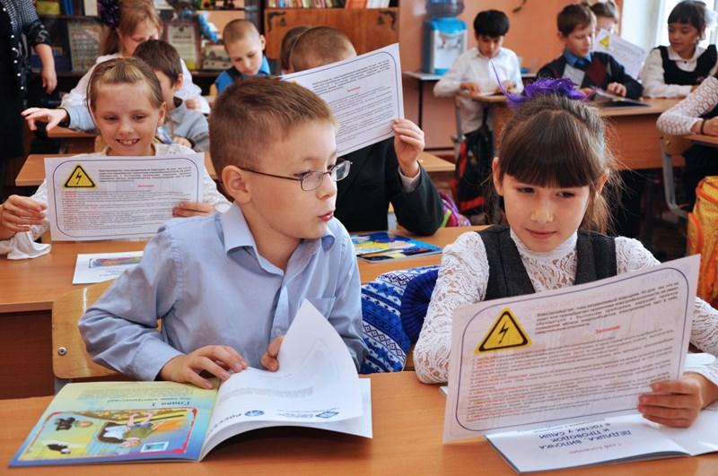 Как сообщили агентству «Урал-пресс-информ» в пресс-службе компании, энергетики рассказали школьни
