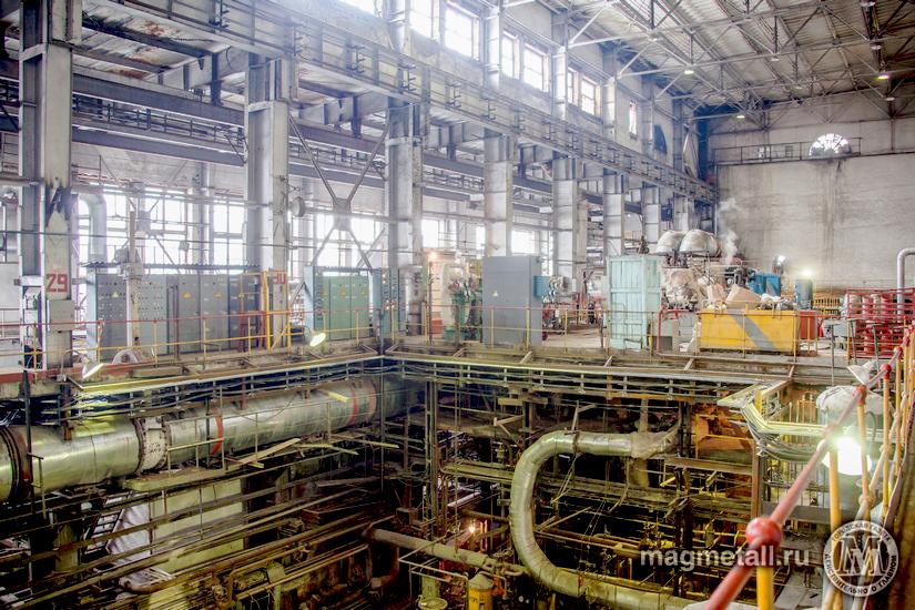 На Центральной электрической станции (ЦЭС) Магнитогорского металлургического комбината установят