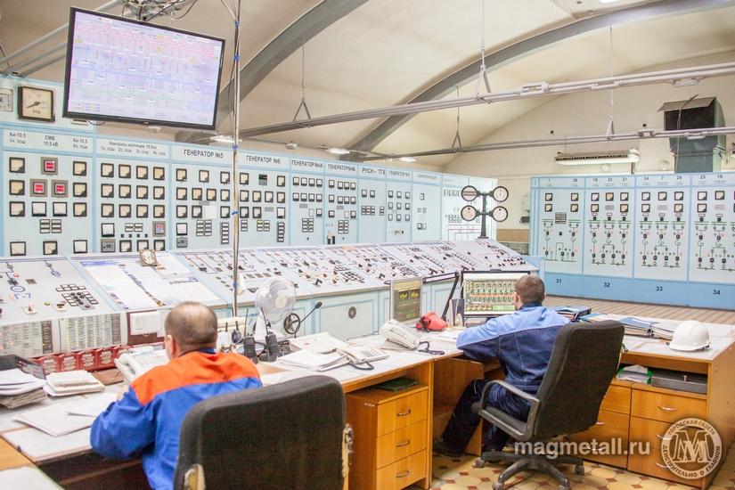 Главный энергоузел ПАО