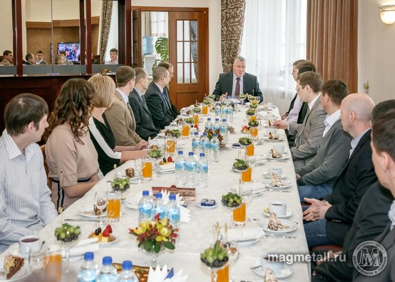 Лучшие рационализаторы 2017 года встретились с генеральным директором ПАО