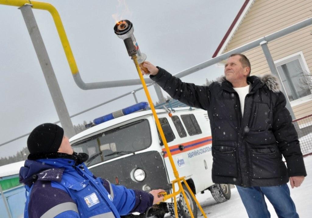 Строительство газопровода проводилось по реализации региональной целевой программы «Доступное и к