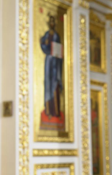 Прямую онлайн трансляцию ночного богослужения главного православного праздника Пасха в Свято-Симе