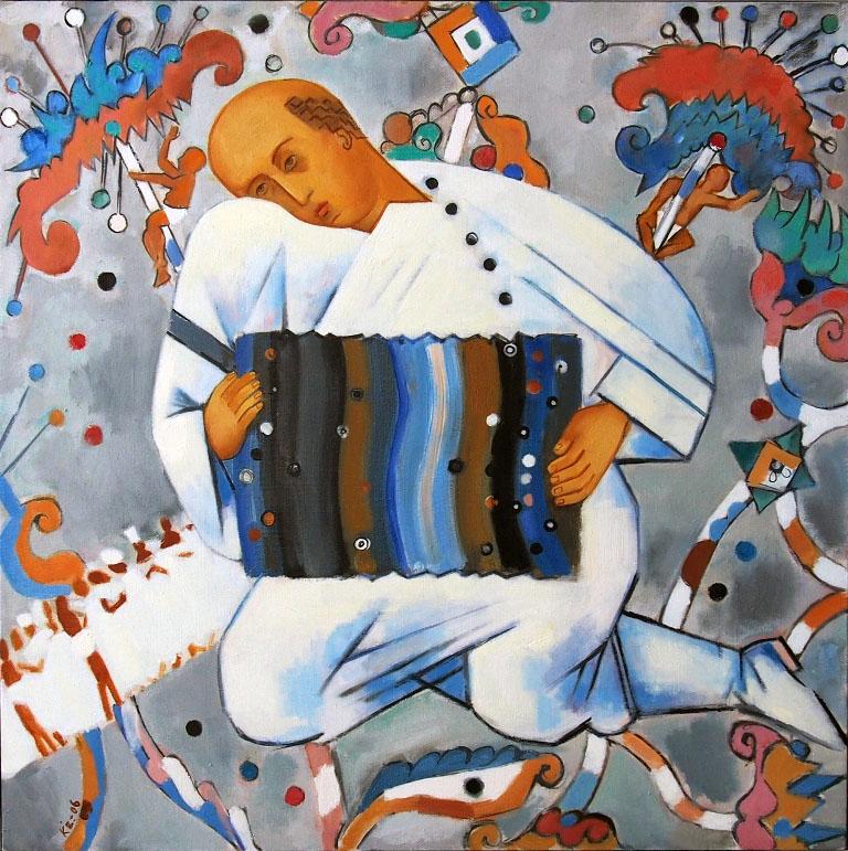 Качаловская «Живописная симфония» № 9 (девятая персональная выставка художника) — богатая, многот