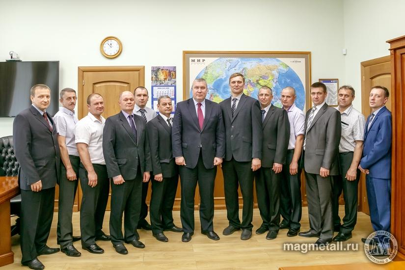 На Магнитогорском металлургическом комбинате (Челябинская область) началась традиционная кампания