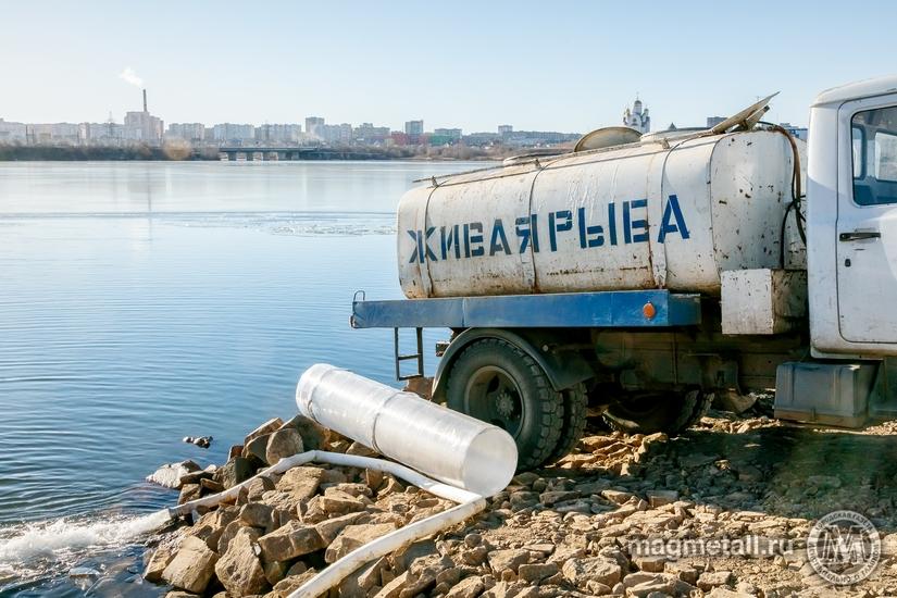 В акватории Магнитогорского водохранилища введен в эксплуатацию комплекс гидротехнического сооруж