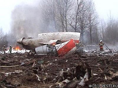 В кабине Ту-154 Леха Качиньского, разбившегося под Смоленском, находился главнокомандующ