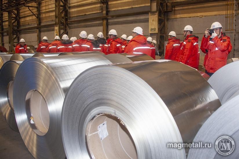 Исполнилось три года с момента ввода в эксплуатацию на Лысьвенском металлургическом заводе агрега