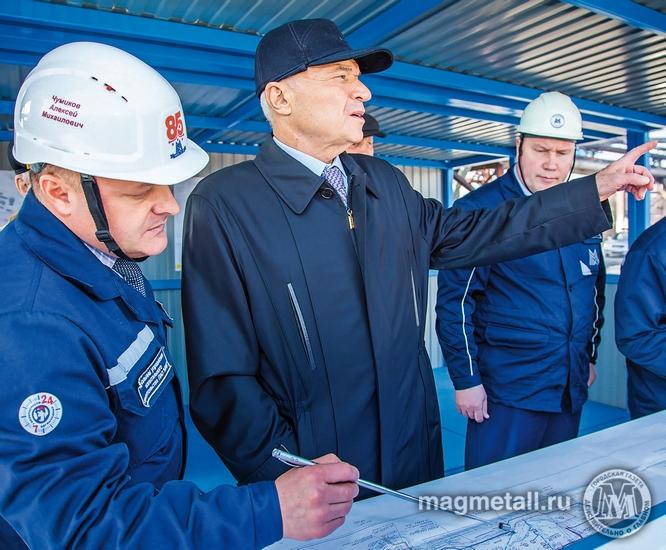 Строительство современной мощности по производству кокса на ПАО «Магнитогорский металлургический