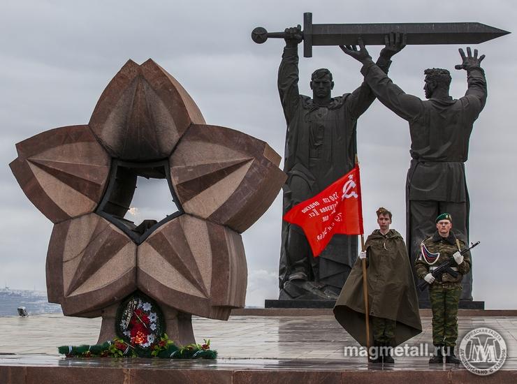 В Магнитогорске (Челябинская область) прошла акция «Маршрут памяти», которая 16-й год предваряет