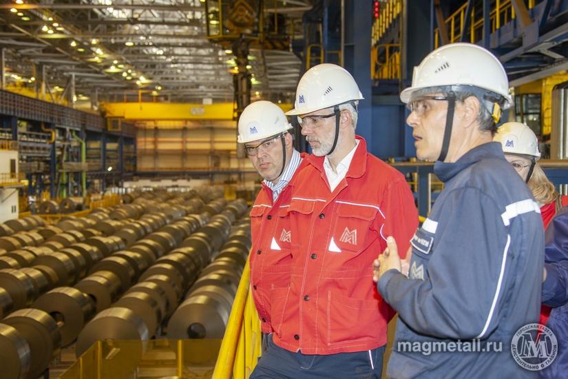 В Магнитогорске с рабочим визитом побывали представители немецкой компании «ОБЕРМАЙЕР КОНСУЛЬТ».