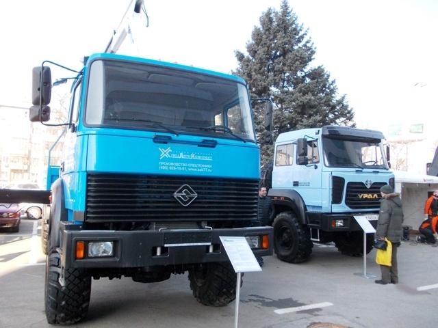 Седельный тягач «Урал-44202-3511-82» - из нового семейства модернизиро