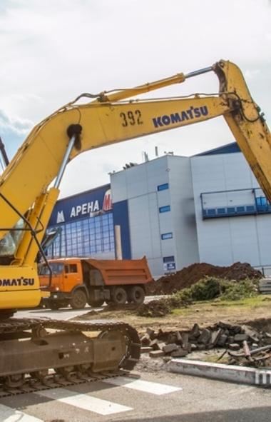 В Магнитогорске (Челябинская область) набирает обороты стартовавшее в начале августа строительств