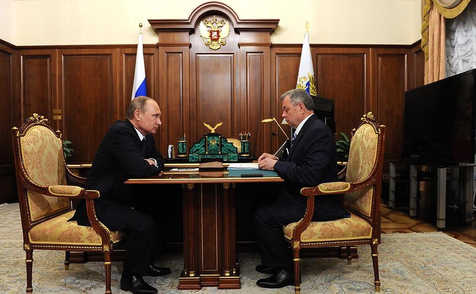 Как заявил на встрече с Президентом России Владимиром Путиным губернатор Калужской области Анатол