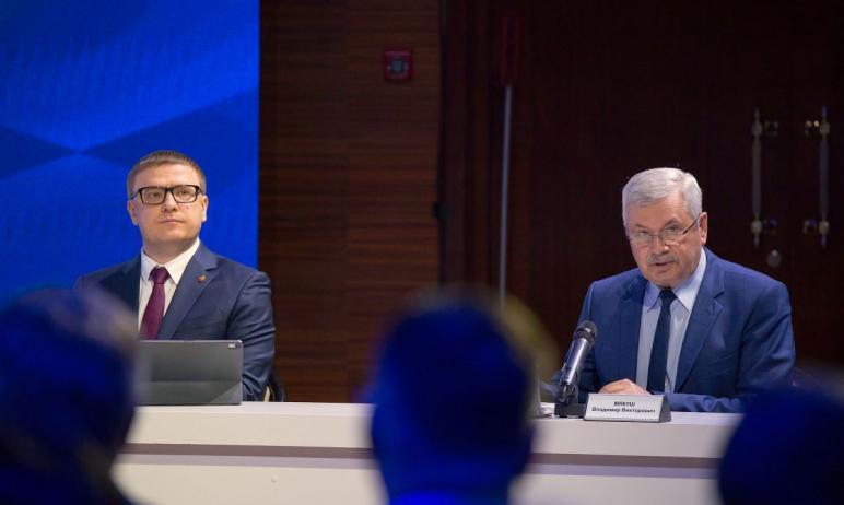 Губернатор Челябинской области Алексей Текслер выступил с обращением к Законодательному собранию