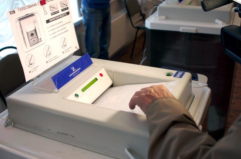 «На 20 часов явка избирателей составила 37,97%, - рассказала председатель избирательной комиссии