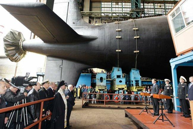 Подводные силы Военно-морского флота России получат до 2020-го года до десяти новейших многоцелев