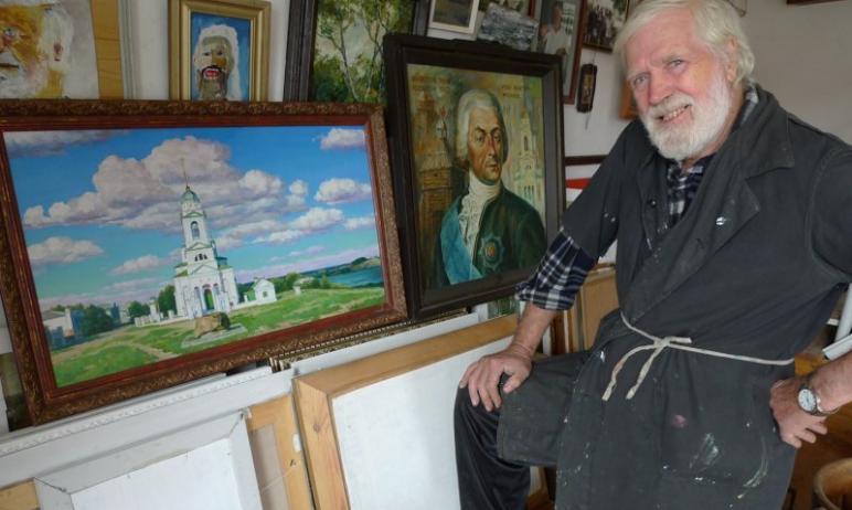 В Троицке (Челябинская область) коронавирус унес жизнь всеми любимого художника Николая Левшича,