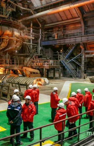 Магнитогорский металлургический комбинат (Челябинская область) принял международную научно-практи