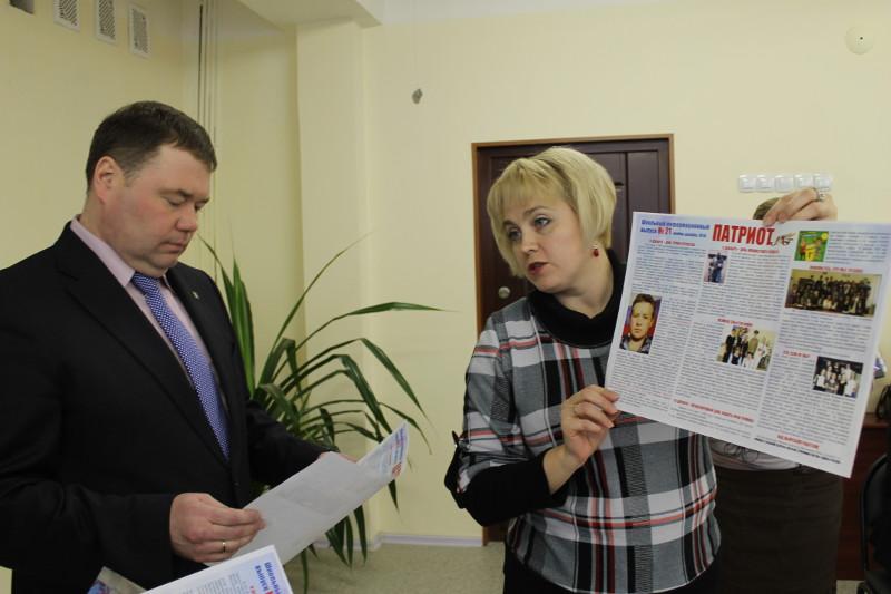 Как сообщает пресс-служба органов местного самоуправления, оводом для визита стали добрые дела ст
