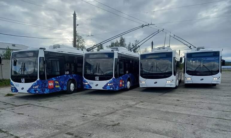 Четыре новых троллейбуса выйдут на линию в Миасском городском округе (Челябинская область) на сле