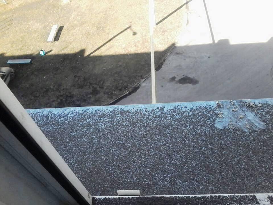 Некоторые из обратившихся в экологическую приемную утверждают, что утром на окнах и крышах автомо