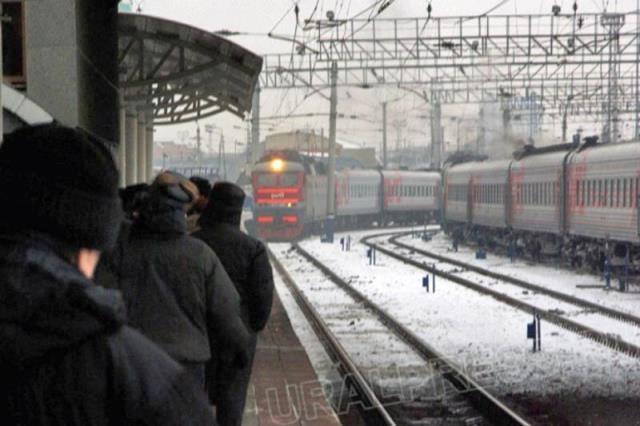 Поезд №191 Челябинск – Санкт-Петербург будет отправляться из Челябинска 20 и 24 марта 2015 года в