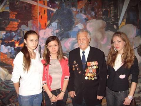 Борис Владимирович Кудрявцев — ветеран Великой Отечественной войны, гвардии майор в отставке. Уча