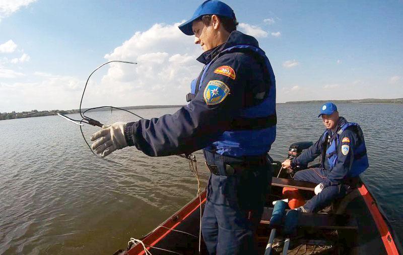 Спасательная операция на озере Кундравы (Чебаркульский район, Челябинская область) завершилась. Т
