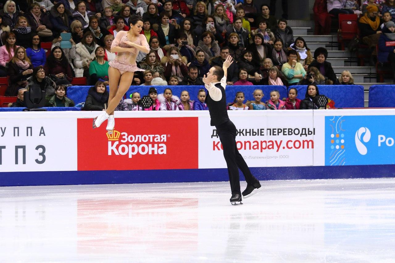 Наибольшее количество баллов получила пара из Москвы Евгения Тарасова и Владимир Морозов