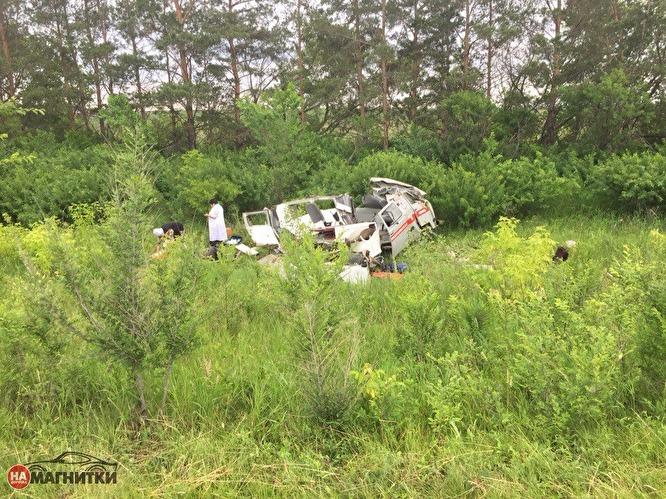 Авария произошла в воскресенье, 25 июня, около 10 часов утра на 155-м километре ав