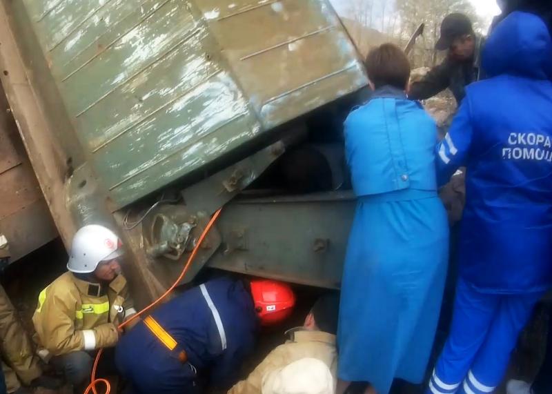 16 октября спасатели златоустовского спасотряда областной службы выезжали на окраину города Бакал