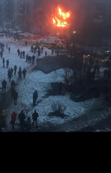 В Магнитогорске (Челябинская область) в жилом доме произошел взрыв бытового газа. По предваритель