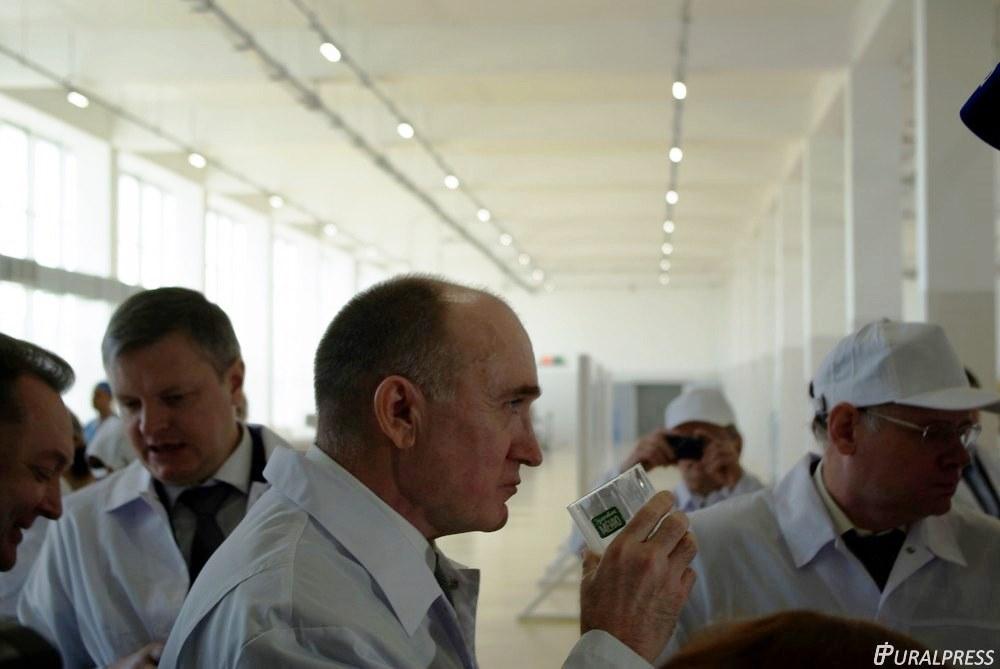 Сегодня, 15-го марта, глава региона посетил челябинское предприятие с рабочим визитом. Борис Дубр