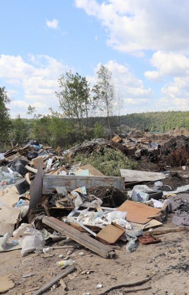 Жители поселка Старосмолинский каменный карьер (город Челябинск) возмущены устроенной на их терри