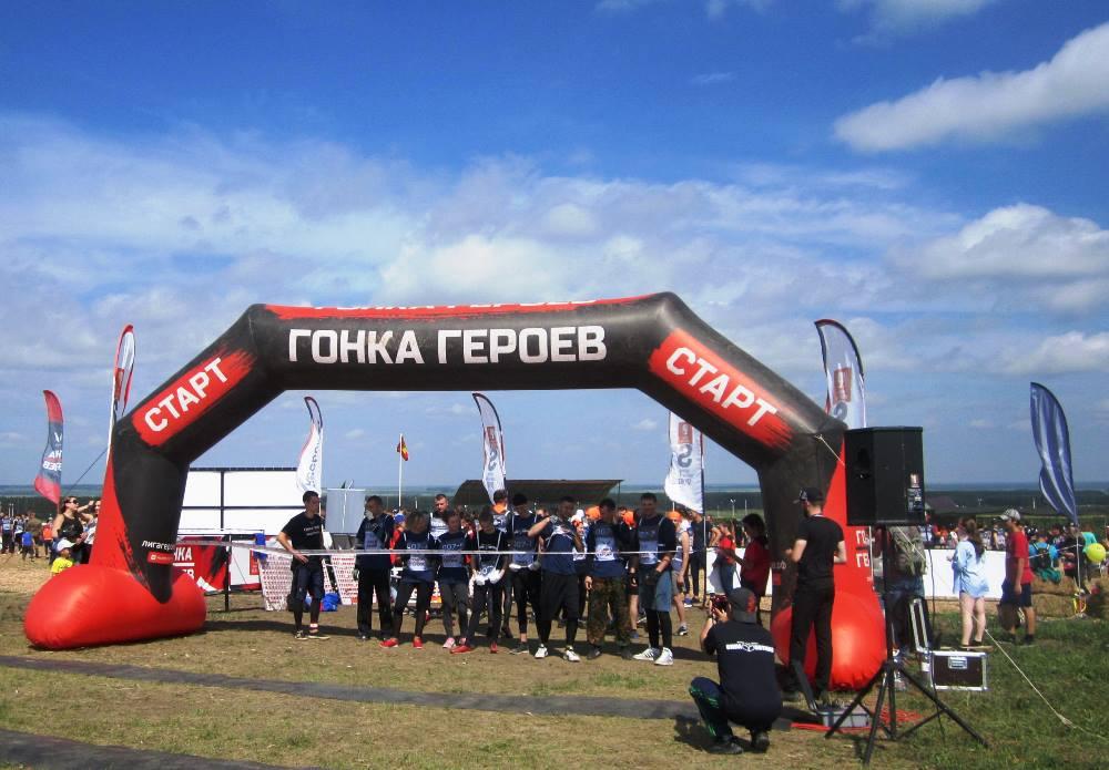 На полигоне под Чебаркулем (Челябинской области) 4 августа в четвертый раз состоялась «Гонка геро