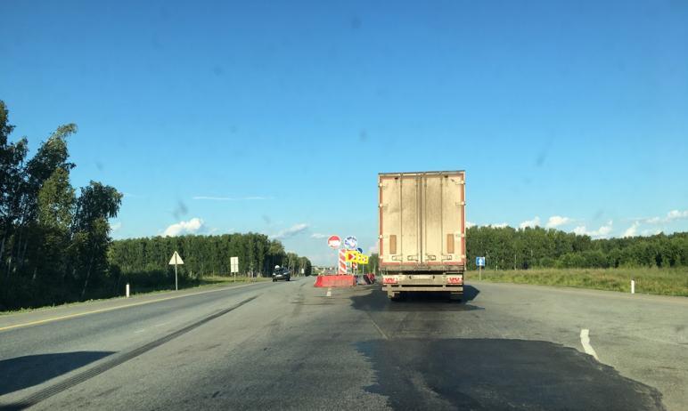 На федеральных трассах Челябинской области из-за сильной жары (свыше +32 градусов) сегодня, 25-го