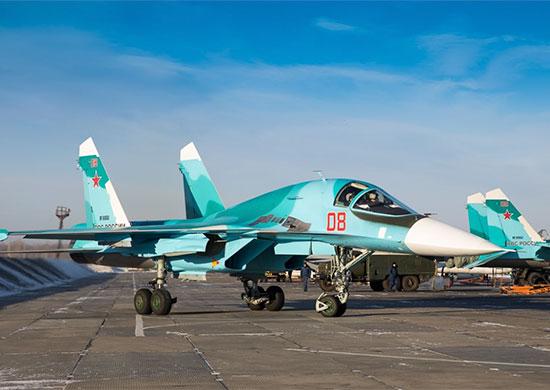 Вторая эскадрилья многофункциональных истребителей-бомбардировщиков Су-34 будет создана до конца